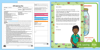 EYFS Sweet Shop Estimation Adult Input Plan and Resource Pack - EYFS, Early Years Planning, Adult Led, Maths, Mathematics, 40-60 months, Estimates how many objects
