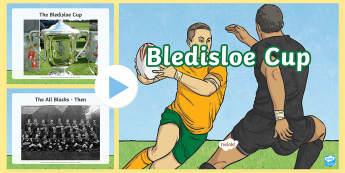 Bledisloe Cup Photo PowerPoint - bledisloe cup, australia, wallabies, new zealand, all blacks, rugby, rugby union, ,Australia
