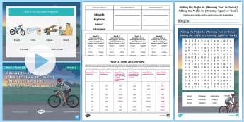 Year 3 Term 2B Week 3 Spelling Pack - Spelling Lists, Word Lists, Spring Term, List Pack, SPaG