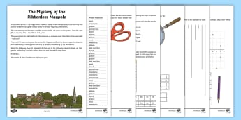 UKS2 May Maths Mystery Game - game, maths, mathematics, fraction, decimal, decimal fractions, coordinates, co-ordinates, mystery,