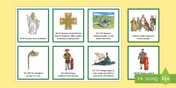 The Celts Timeline Sequencing Activity - CfE, timeline, iron age, Celts, celtic, history, people in past societies,Scottish