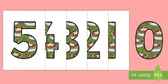 Five Mince Pies Nursery Rhyme Numbers 0-5 - five mince pies, nursery rhyme, rhyme, rhyming, christmas, food, santa, numbers 0-5, number, 0-5