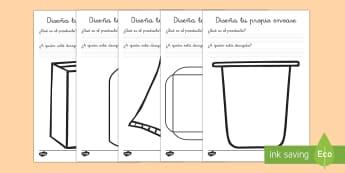 Plantillas de diseñar envases-Spanish
