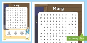 ROI Mary Word Search Worksheet / Activity Sheet - gaeilge, Mary, May, word search, worksheet / activity sheet, Christianity, worksheet