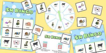 SN Spinner Bingo - sn sound, spinner bingo, spinner, bingo, sound