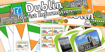Dublin Tourist Information Office Role Play Pack-dublin, tourist information, tourist, role play, role play pack, dublin pack, tourist, games