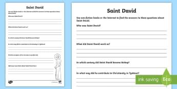 Saint David Activity Sheet - Cennin Pedr, cennin, daffodil, leek, Cymru, Wales, Welsh, Cymraeg, cardiau, cards, traddodiad, tradi