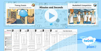 PlanIt Maths Y3 Measurement Lesson Pack Estimate, Time and Compare (2)