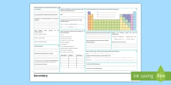 OCR Gateway Science Chemistry C4: Predicting Chemical Reactions Higher Revision Activity Mat  - halogens, noble gases, alkali metals, displacement, reactions, acids, gases