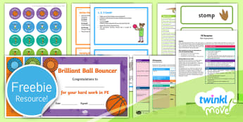 Free Reception Move Taster Resource Pack - Sample, freebie, trial, PE scheme of work, PE lesson plans, EYFS