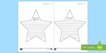 New Year Resolution Stars Activity Sheet Te Reo Māori - New Year, Resolution, Stars, Activity Sheet, Ngā Tatūnga, worksheet