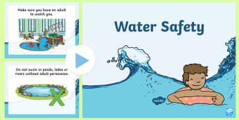 Water Safety  PowerPoint - Water Safety PowerPoint - water, safety, pool, safe, swim, austrailia, powerpoints, ppt, swimming, w