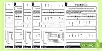 Crack the Code Worksheet / Activity Sheet, worksheet