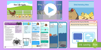 CFE Early Level British Science Week Exploring the World Resource Pack - Science and Technology, STEM, STEAM, 9th March 2018