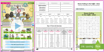 Year 4 Term 2A Week 3 Spelling Pack - Spelling Lists, Word Lists, Spring Term, List Pack, SPaG