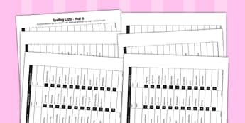 Home Educators Spelling Pack Year 6 - home educators, spelling, year 6
