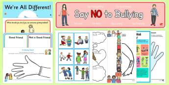 KS1 Anti Bullying Week 2016 Resource Pack - Anti-bullying- anti bullying week, bullying, friendship, relationships