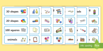 picture regarding Free Printable Classroom Labels identified as EYLF Device and Tools Labels