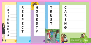 What Makes a Happy Classroom? Acrostic Poem Pack - CfE Back to School, new class, new school year, transition, settling in, getting to know you, first