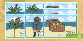 Pósters DIN A4: Preposiciones - Piratas - piratas, pirata, preposiciones, póster, pósters, DIN A4, vocabulario, exponer, exposición, decora