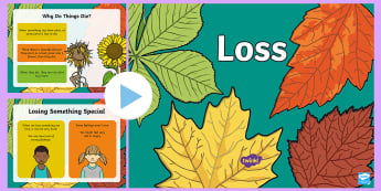 Loss PowerPoint - Change, Death, Dying, Die, Grief,mourning, support, help