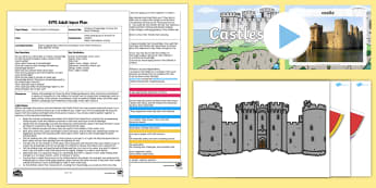 EYFS Create a Drawbridge to Cross the Moat Challenge Adult Input Plan and Resource Pack - Creative, design, create, make, Expressive Arts and Design, Exploring and Using Media and Materials,