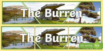 The Burren Display Banner - clare, ireland, tourism, geography, geological