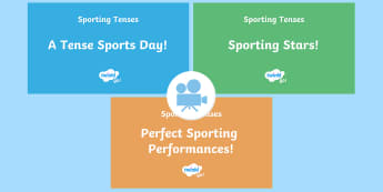 SPaG-Tastic! : Sporting Tenses KS2 Video Pack - spag, grammar, tenses, continuous, progressive, simple past, simple present, Twinkl Go, twinkl go, TwinklGo, twinklgo