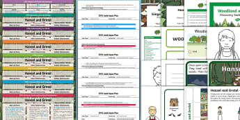 EYFS Hansel and Gretel Bumper Planning Pack - Early Years planning, plan, Foundation, continuous provision, enhancements, adult led, topic plannin