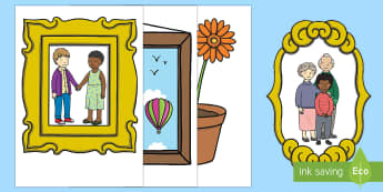 Giant Home Corner Role-Play Cut-Outs Arabic/English - giant cut outs, cut outs, cut-outs, cutouts, houses and homes, at home, home, home role play, home r