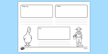 President Duck Sequencing Activity Sheet - duck for president, president duck, doreen cronin, sequencing activity, worksheet
