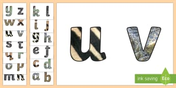 Animal Camouflage Display Lettering - Science, UAE, animals, living, world, Arabian, leopard, camel, falcon, oryx, saluki, lizard, sand, m