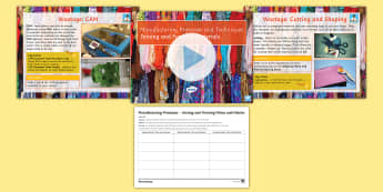 Manufacturing Processes - Joining and Forming Fibres and Fabrics: Complete Guide Lesson Pack - Secondary, D&T, Joining and forming material, Fibres and fabrics, KS4, revision, GCSE