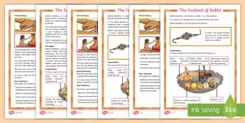 KS2 The Festival of Rakhi Differentiated Fact File - Hindu, celebration, family, symbolism, ceremony,