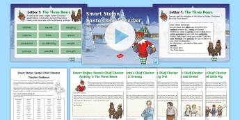 LKS2 Letters to Santa: Spot the Spelling Mistake Resource Pack - spag, statutory spellings, y3, y4, edit and improve, corrections, Appendix 1, uplevelling, smart stefan