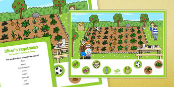 Oliver's Vegetables Can you Find...? Poster and Prompt Card Pack