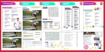 Sport Relief 2018 Primary Quiz and Games Activity Pack - sport relief, fund raising, sport, raise money, step challenge,