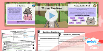 Traditional Tales: Little Red Riding Hood: Interviews 1 Y1 Lesson Pack - Traditional stories, fairytales, fairy tales, fairy stories, familiar stories