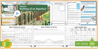 Segovia Aqueduct Lesson Pack - Roman Spain, Ancient Rome, Cuarto Curso Primaria, Social Science, Ciencias Sociales, Acueducto, Span