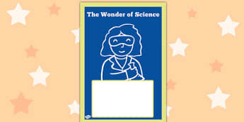 The Wonder of Science Book Cover - wonder, science, book cover