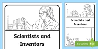 Scientists and Inventors Book Cover  - PlanIt - Science Year 5 - Properties and Changes of Materials Unit Book Cover - planit, science, yea
