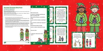 The Kind Christmas Elves Resource Pack - Elf on the Shelf, Kindness Elves, The Kind Christmas Elves, elf, elves, love, kindness, sharing