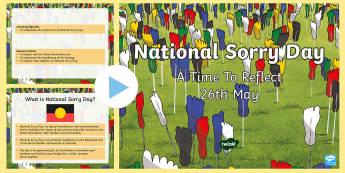 National Sorry Day PowerPoint - What was the Stolen Generation? Austalia National Sorry Day - 26 May, Aboriginal Australians