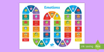 Mood Monsters Emotions Board Game - sily billy, huge bag of worries,  Ourselves, social, emotional, emotions, feelings, moods, PSED, PSH