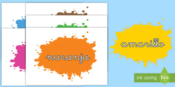 Palabras temáticas en imagen: Los colores - colores, color, exposición, decoración, rojo, negro, azul, blanco, gris, amarillo, verde, rosa, p