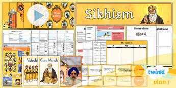 RE: Sikhism Year 3 Unit Pack