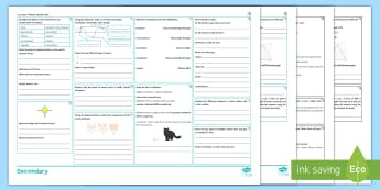 KS3 Physics Revision Activity Mat  - forces, waves, light, sound, energy, speed, electromagnets