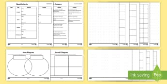 Year 4 Sorting Quadrilaterals Maths Resource Pack - Compare and classify geometric shapes, including quadrilaterals and triangles, based on their proper