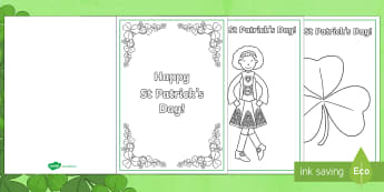 St Patrick's Day Greetings Cards - St Patrick's Day UK, March 17th 2017, st patricks,