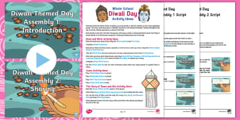 Diwali Whole School Themed Day Resource Pack - Divali, Celebration, Hindu, Festival, Activities